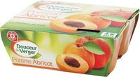 Dessert de fruits pomme abricot x4 - Product