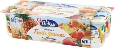 Yaourt fruit jaunes - Product - fr