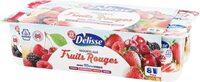 Yaourts aux Fruits rouges - Produit