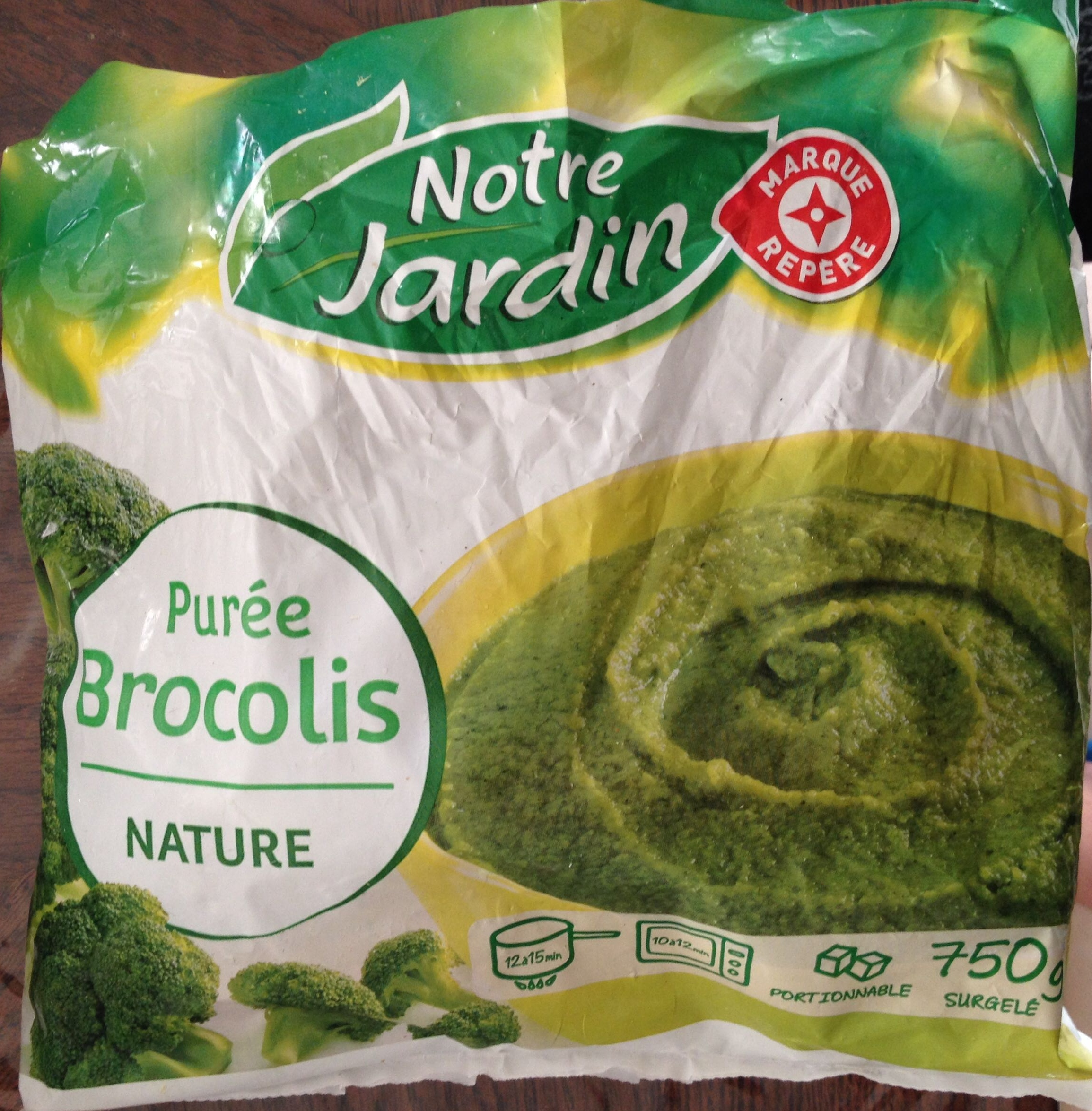 Purée Brocolis nature - Product