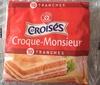 Tranches de fromage fondu à l'emmental pour croque-monsieur x 10 - Product