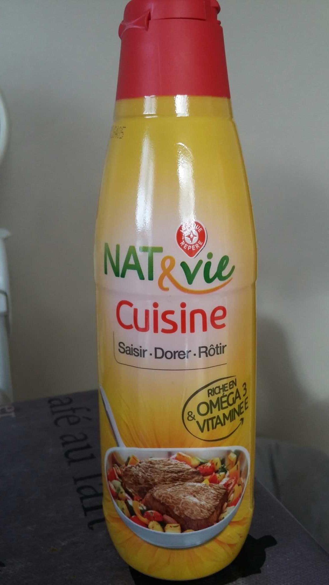 Nat vie cuisine 500ml for Produit cuisine