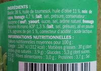 Pesto verde - Ingrédients - fr