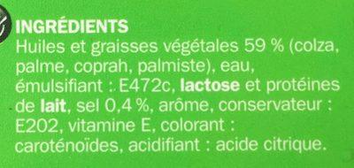 Matière grasse 59 % Mat. Gr. Riche en oméga 3 - Ingrediënten - fr