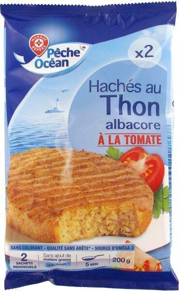Hachés au thon à la tomate x 2 - Product