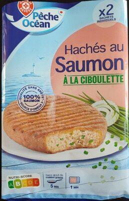 Hachés au saumon à la ciboulette x 2 - Produit - fr