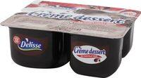 Crème dessert chocolat noir - Produit - fr