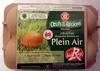 Oeufs frais de poules élevées en Plein Air (x 6) Label Rouge calibre Gros - Produit