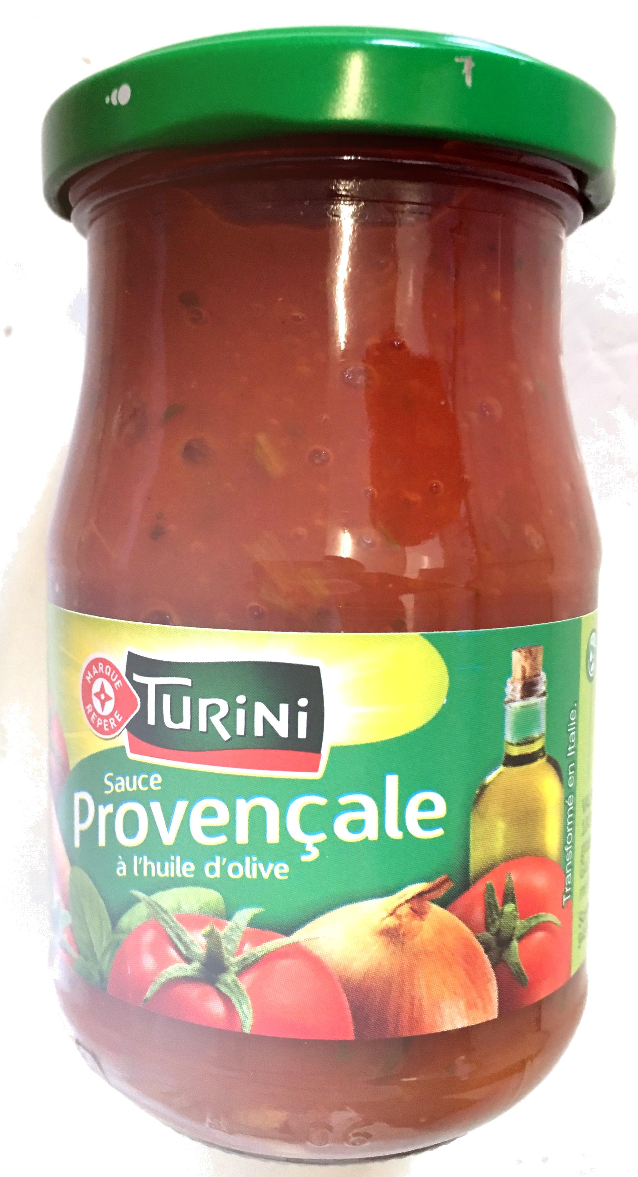 sauce proven ale l 39 huile d 39 olive turini 190 g. Black Bedroom Furniture Sets. Home Design Ideas