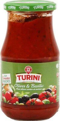 Sauce tomate olives et basilic - Produit - fr