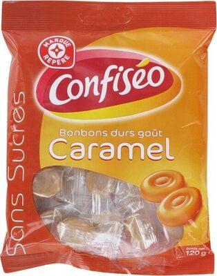 Bonbons durs sans sucres goût caramel - Product