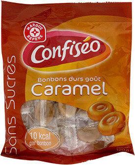 Bonbons durs sans sucres goût caramel - Prodotto - fr
