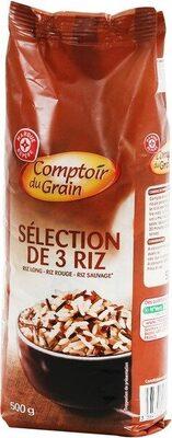 Selection 3 riz - Produit