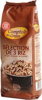 Sélection de 3 riz - Produit - fr
