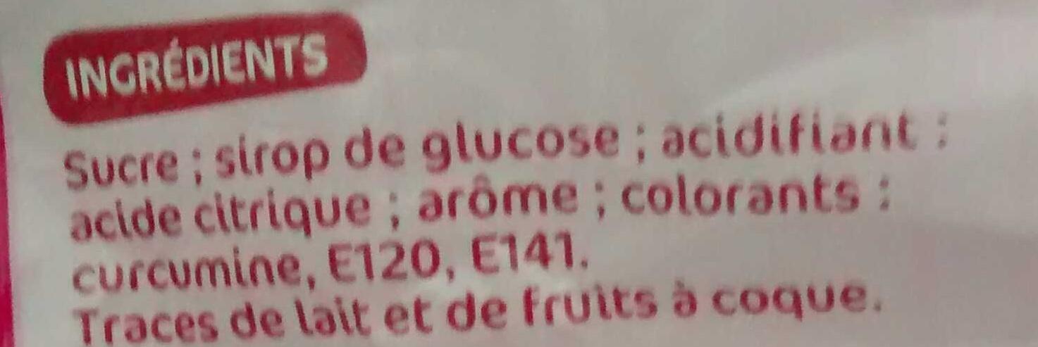 Acidulo 39 s go t tutti frutti confis o 250g - Acide citrique leclerc ...