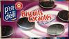 Biscuits cacaotés fourrés goût vanille - Producto