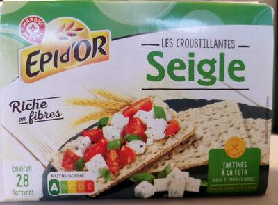 Tartines croustillantes au Seigle - Product - fr