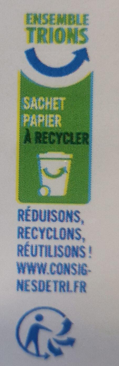Tartines croustillantes au Seigle - Recyclinginstructies en / of verpakkingsinformatie - fr