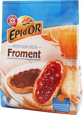 Petits pains grillés au froment - Produit