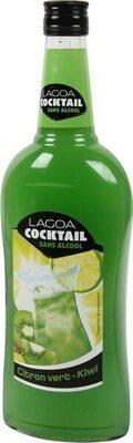 Cocktail sans alcool citron vert kiwi - Produit - fr
