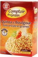 Duo céréale et graines (quinoa et boulgour) - Product - fr