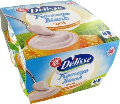 Fromage blanc sucré - Produit - fr