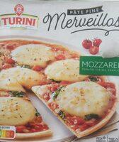 Pizza Merveillosa mozzarella - Product - fr