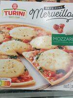 Pizza Merveillosa mozzarella - Produit - fr