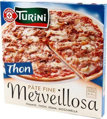 Turini Pizza Merveillosa thon - Product - fr