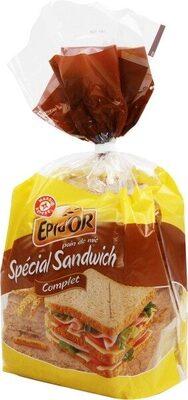 Pain de mie sandwich complet - Produit