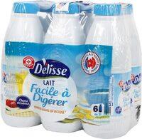 Lait demi-écrémé réduit en lactose bouteille - Produit - fr