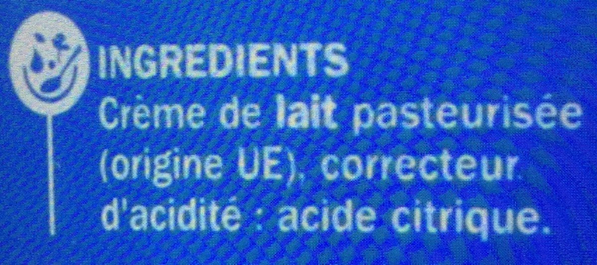 Mascarpone 40%mg - Ingrediënten - fr