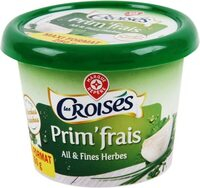 Fromage à tartiner ail et fines herbes 24%mg - Product