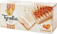 Glace Tyrolia caramel biscuit - Product - fr