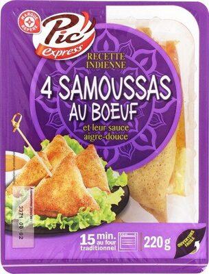 Samoussas au boeuf - Product - fr