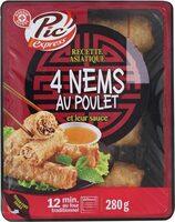 Nems au poulet x4 - Product