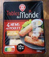 Nems au poulet x4 - Product - fr