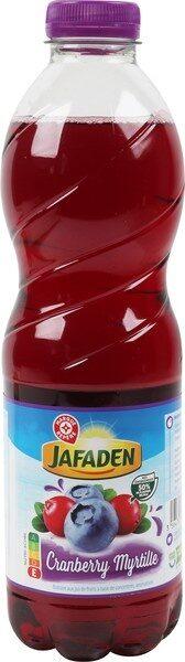 Boisson cranberry myrtille - Produit