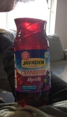 Boisson cranberry myrtille - Informations nutritionnelles
