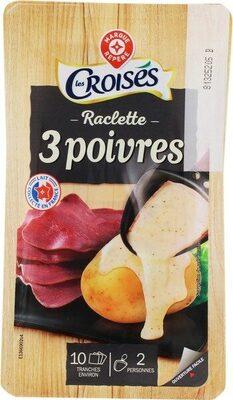 Raclette 3 poivres 26 % Mat. Gr. - Produit - fr