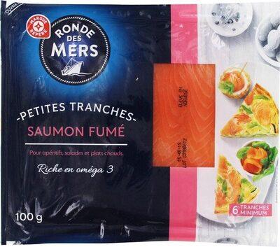 Petites tranches de saumon fumé - Produit - fr