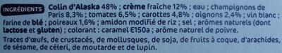 Colin d'Alaska à la Parisienne - Ingredients - fr
