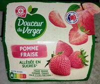 Compotes pomme fraise - Prodotto - fr