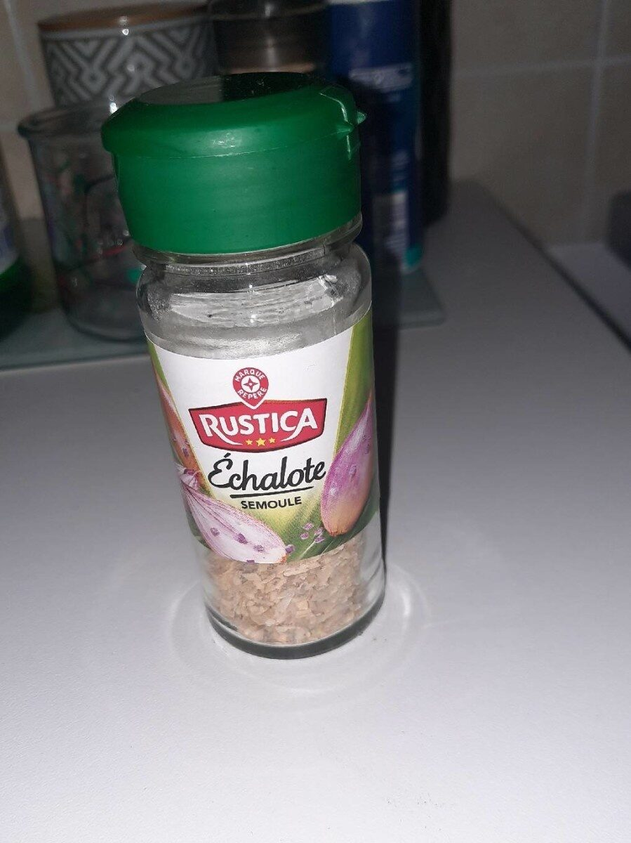 Echalote semoule - flacon - Informations nutritionnelles - fr