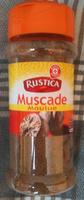Muscade moulue - flacon - Produit