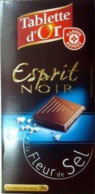 Chocolat noir fleur de sel - Prodotto - fr