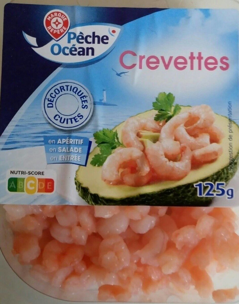Petites crevettes roses - Product - fr