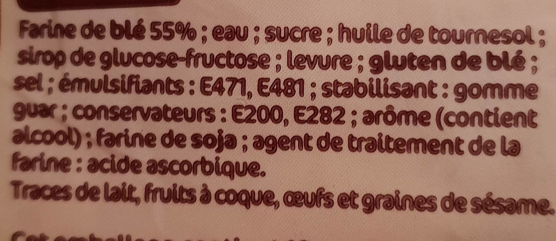 Special mie nature - Ingredientes - fr