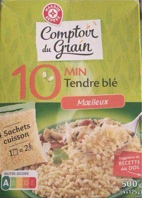 Blé précuit cuisson rapide 10 min - Produit - fr