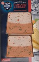 Terrine Homard & Crabe - Produit - fr
